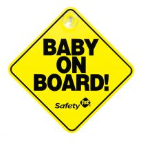 Baby on Board - The Original in Yellow