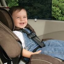Car Window Shade - Deluxe Roller Baby Shade