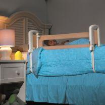 Top of mattress bed rail