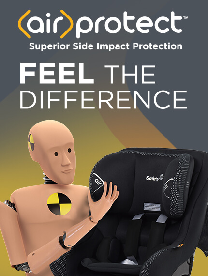 Feel the difference with AirProtect Superior Side Impact Protection
